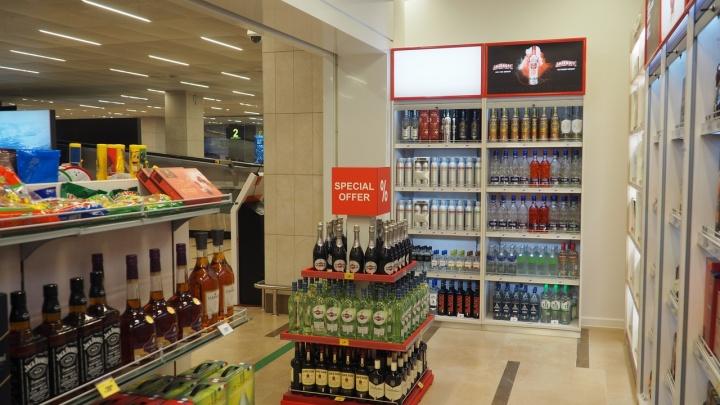 В аэропорту Красноярска открылся еще один duty free