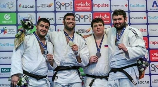 Зауралец Антон Кривобоков завоевал бронзовую медаль международного чемпионата по дзюдо