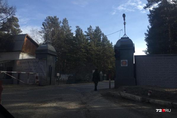 Войсковая часть 54160 дислоцируется в поселке Горном