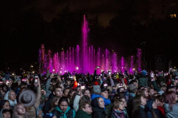 По словам мэра, Новосибирск— первый за Уралом город, где построили такой фонтан