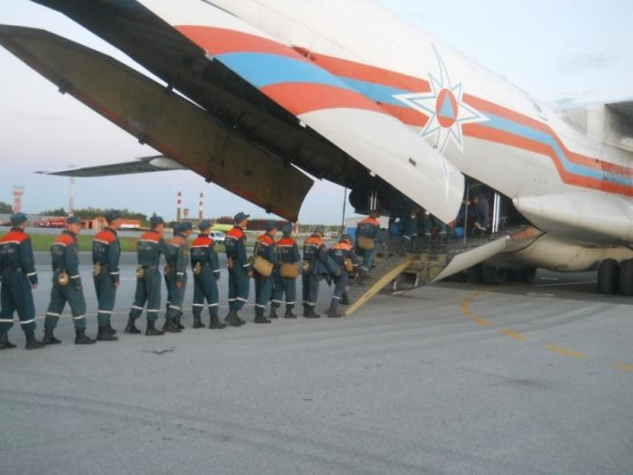 В Приморье полетели 240 спасателей из Новосибирской области