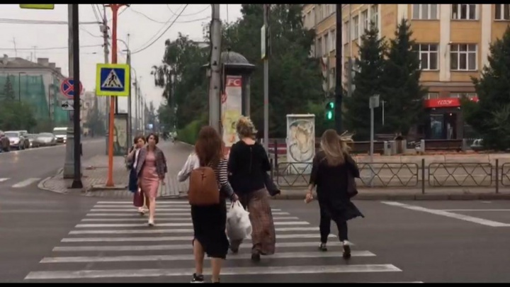 В Красноярске с проспекта Мира начали исчезать П-образные пешеходные переходы