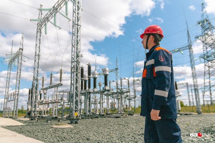К потребителю энергия с самарской станции может попасть в любой точке России