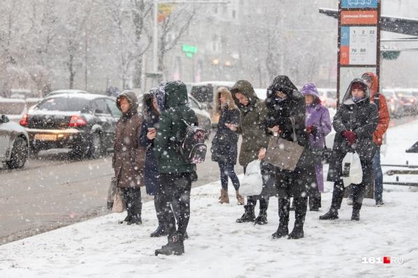 Скоро город засыпет снегом, и начнется традиционная ростовская зима — пробки, наледь и прочие радости