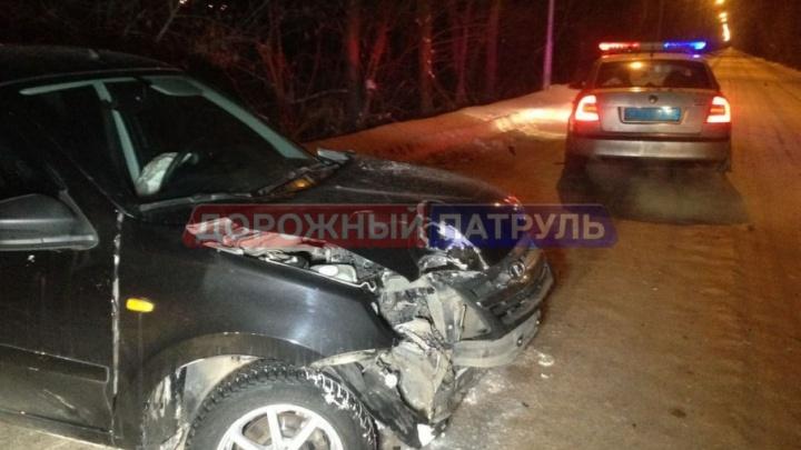 В Уфе автолюбитель на Lada спровоцировал погоню