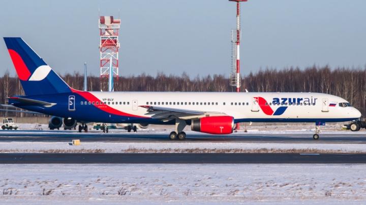 Azur Air отменила февральские перелеты из Перми в Дубай