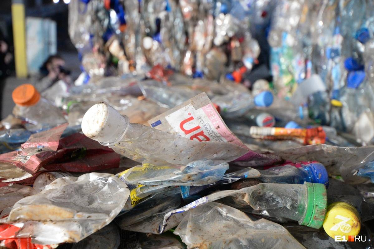 Ещё недавно часть мусора сортировали и отправляли на переработку на Широкореченский полигон. Теперь он закрыт, линия сортировки остановлена