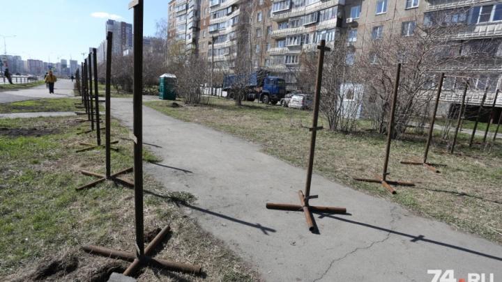 «Грех натуральный»: в Челябинске вырубят сквер под строительство торгового центра