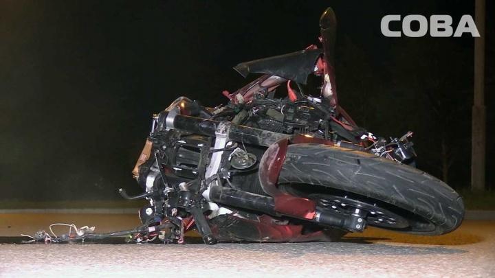 На Халтурина в ДТП с Hyundai погиб мотоциклист