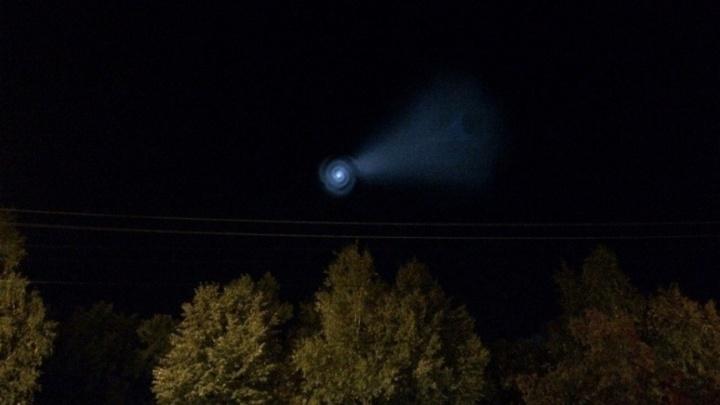 Жители Башкирии увидели НЛО