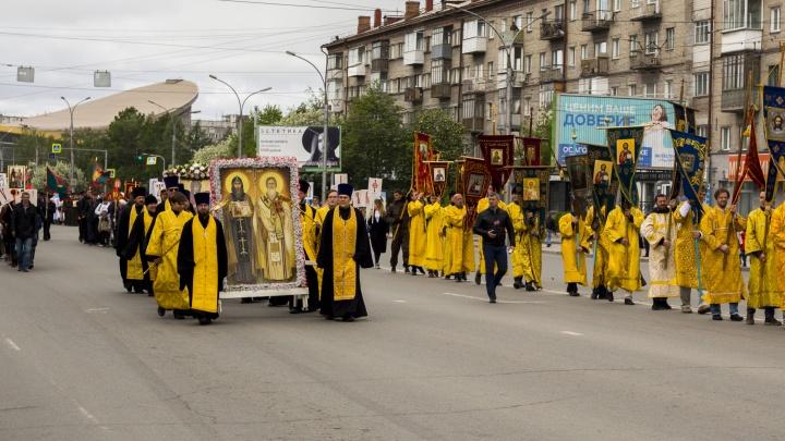В честь Кирилла и Мефодия: 10 лучших снимков с крестного хода