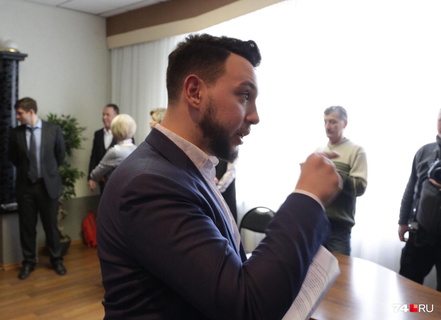 Члены комиссии поинтересовались у 21-летнего Бориса Золотаревского о воспитании