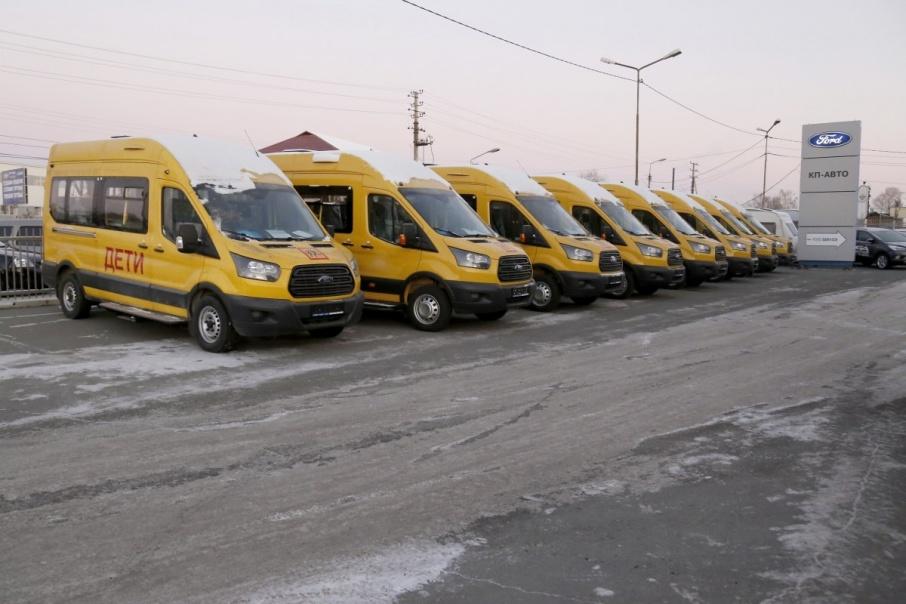 Автобусы уже отправились в районы