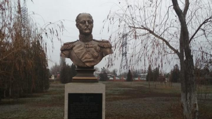 «Жандарм Европы»: в Волгограде в День Конституции открыли бюст Николаю I