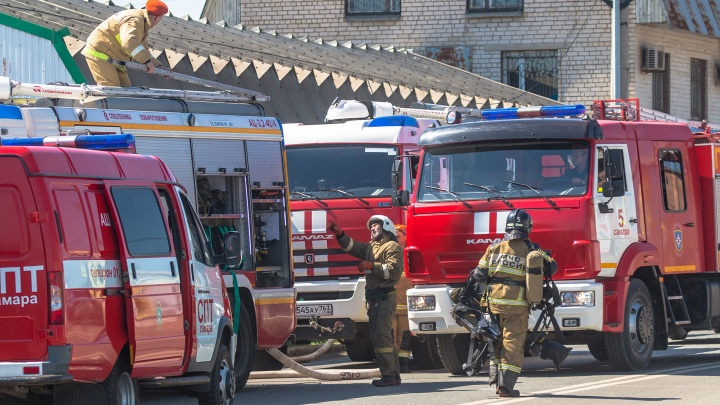 В Самаре детский сад эвакуировали по тревоге