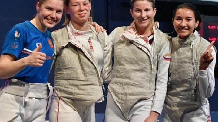 Рапиристка из Башкирии в составе сборной России стала чемпионкой мира
