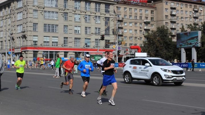 Власти перекроют дороги в центре Новосибирска ради всероссийского полумарафона