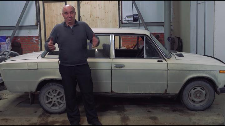 Видеоблогеры из Новосибирска решили превратить отечественную машину в качели