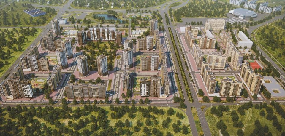 Некоторые жилые комплексы сегодня можно назвать настоящим украшением города