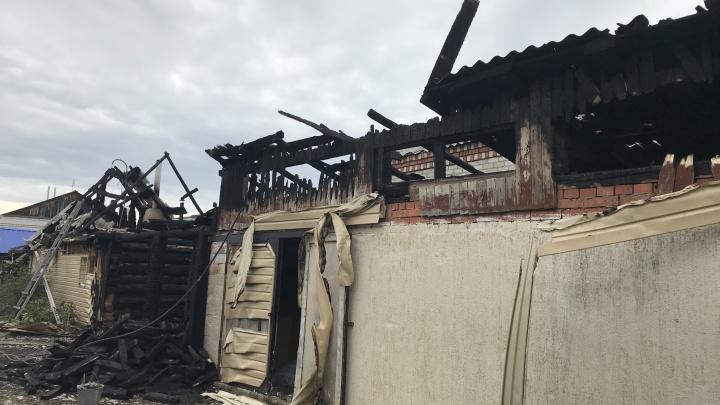 Экспертиза показала, что дом тюменского начальника рыбохраны загорелся неслучайно