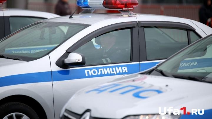 В Башкирии пьяный водитель без документов пытался сбежать от полицейских