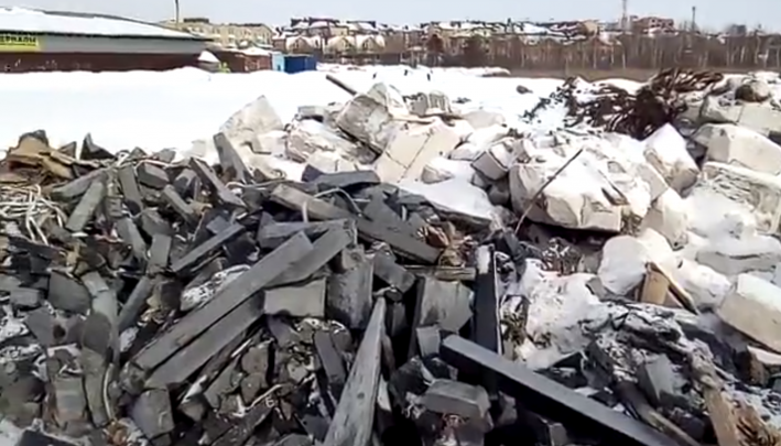 Ярославские чиновники решили найти виновного в несанкционированной свалке за Волгой