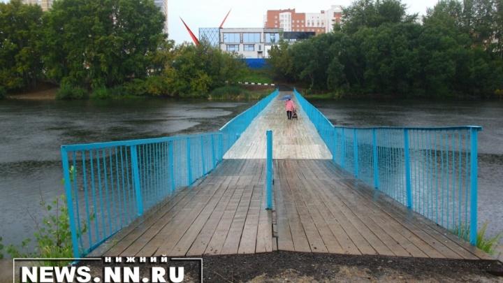 Мост к школе через Мещерское озеро снесли перед началом учебной четверти