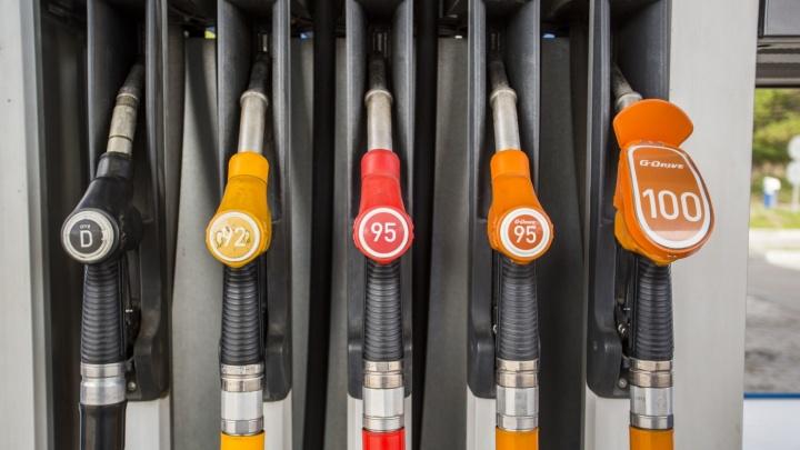 Бензин марки АИ-95 в Волгограде за неделю подорожал на 10 копеек