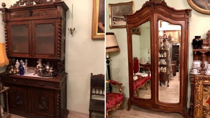 Французский шкаф за 120 тысяч: ярославна выставила на продажу редкий антиквариат