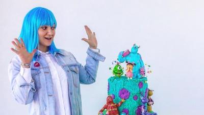 Торт с подсветкой и музыкой от кондитеров из Красноярска признали лучшим в Сибири