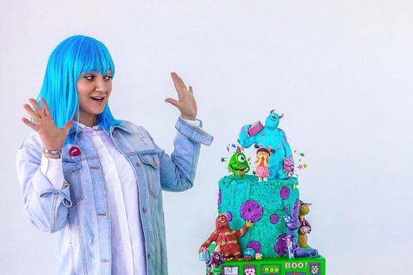 Торт победителей конкурса «Лучший кондитер Сибири — 2019»