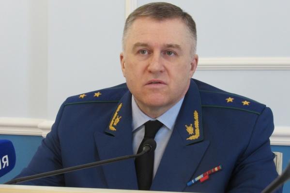 В органах прокуратуры Игорь Ткачев служит уже 26 лет