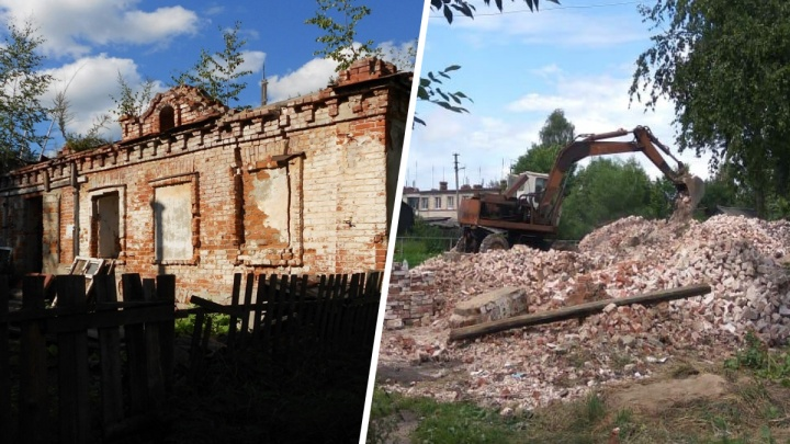 «Это импотенция власти»: в Ярославской области на глазах у горожан снесли здание-памятник