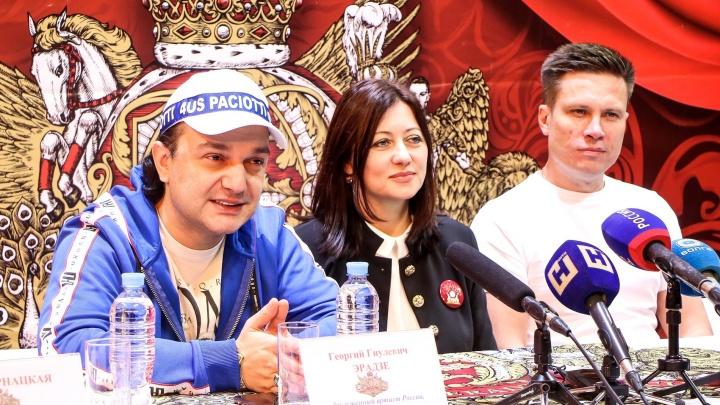 Нового директора нижегородского цирка впервые показали на манеже