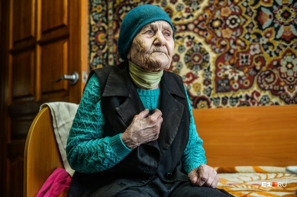 Ирине Никитичне в мае исполнится 102 года
