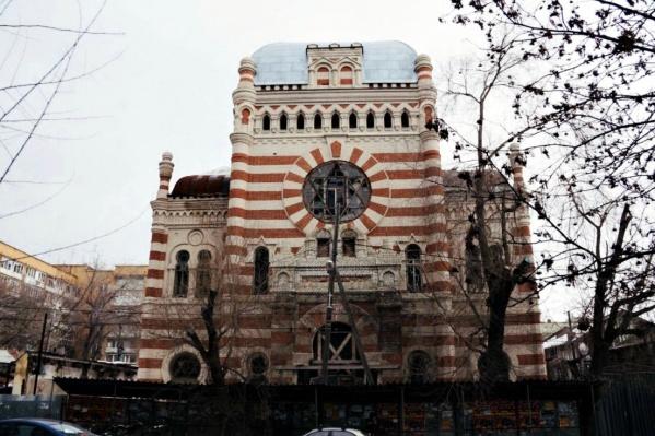 Реставрацию синагоги возобновят с наступлением тепла