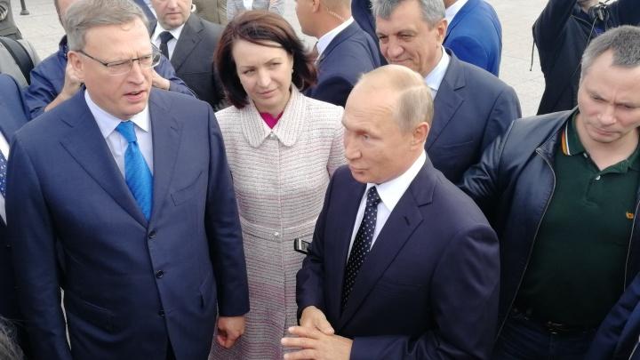 Владимир Путин приедет в Омск 7 ноября