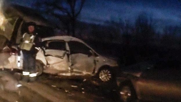 Массовая авария с «Газелью» в Башкирии: пострадали пассажиры и водители «Лады» и Volkswagen