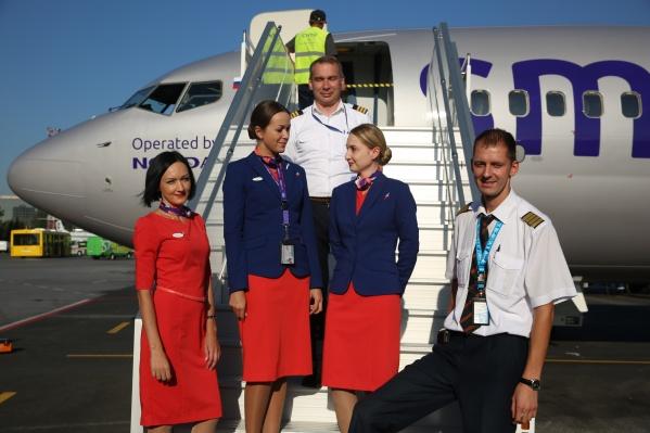 Первый рейс в Москву из Новосибирска отправился сегодня