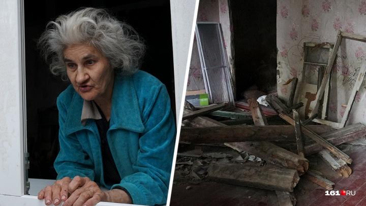В Ростове слепой пенсионерке, живущей в нищете, установили новую дверь и окна
