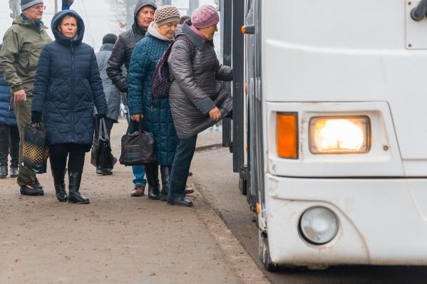 Дачные автобусы будут курсировать только по выходным дням