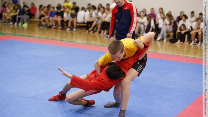 В екатеринбургских школах дети будут изучать приёмы самбо на физкультуре