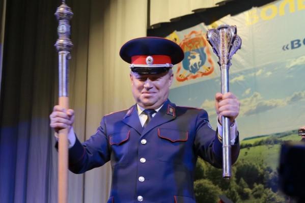 Казаки переизбрали генерала Виктора Гончарова на три года