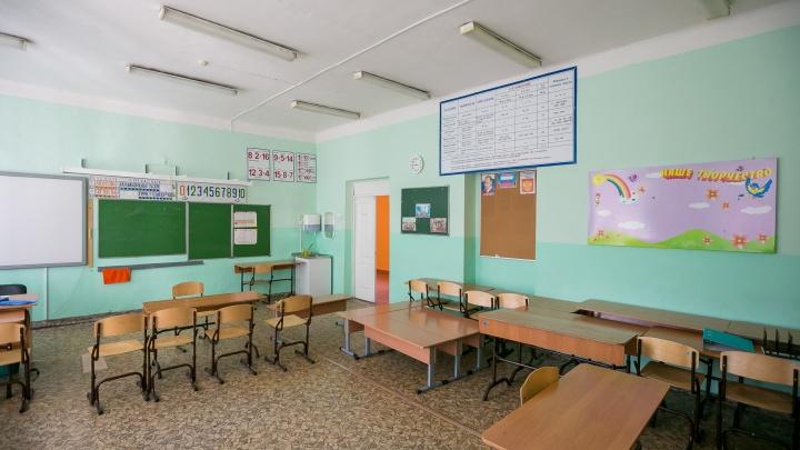 Красноярскую школу оштрафовали за корявую мебель и темень в классах