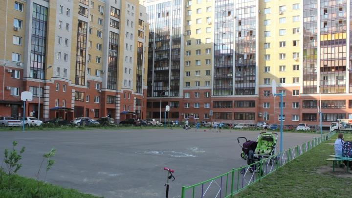 В домах за «Ареной Омск» массово продают жильё