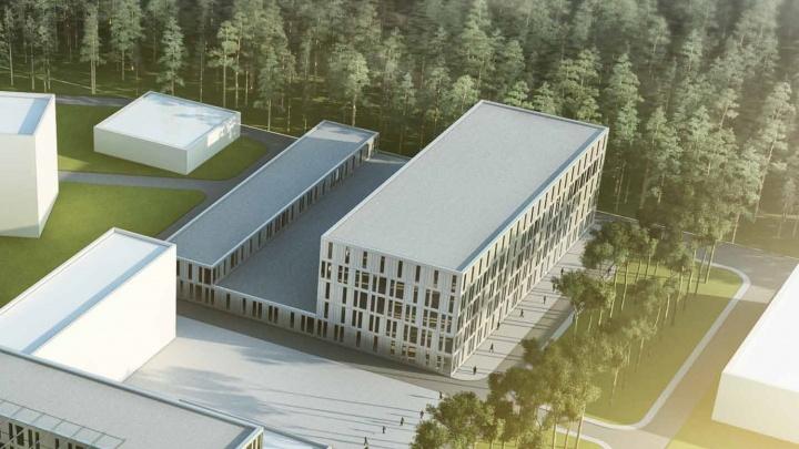 Лес не тронут: новосибирская клиника решила построить научный центр за 10 миллиардов (эскиз)