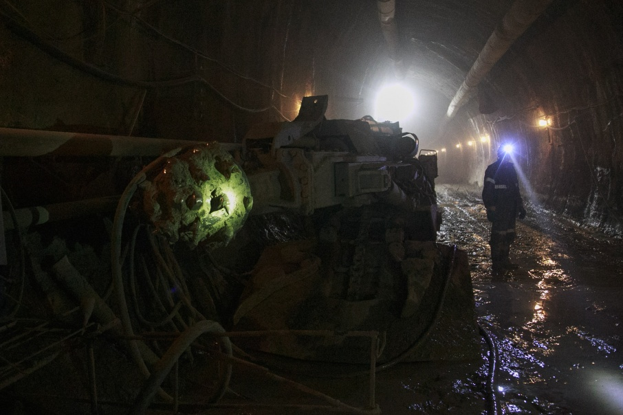 Месторождение будут разрабатывать шахтным способом