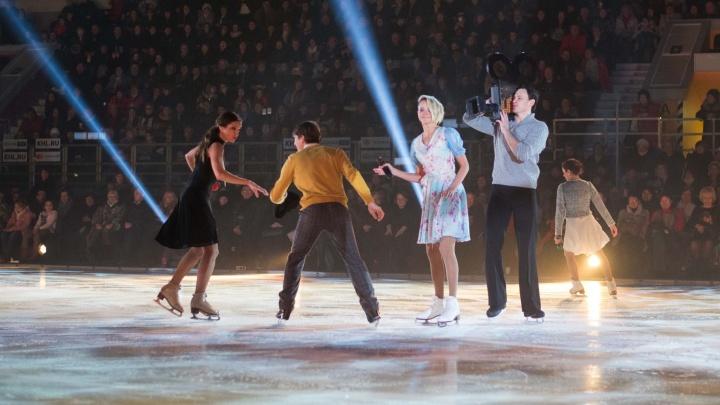 Кино на льду и наяву: Илья Авербух привёз в Екатеринбург своё знаменитое шоу