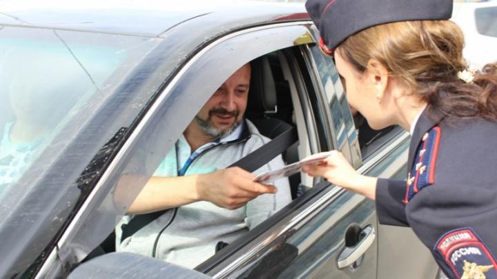 Автоинспекторы оштрафовали 150 водителей автомобилей с детьми