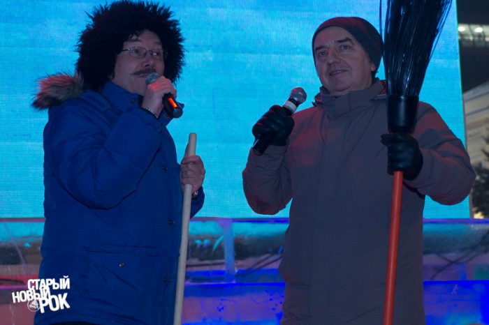 Бегунов и Шахрин в канун Нового года